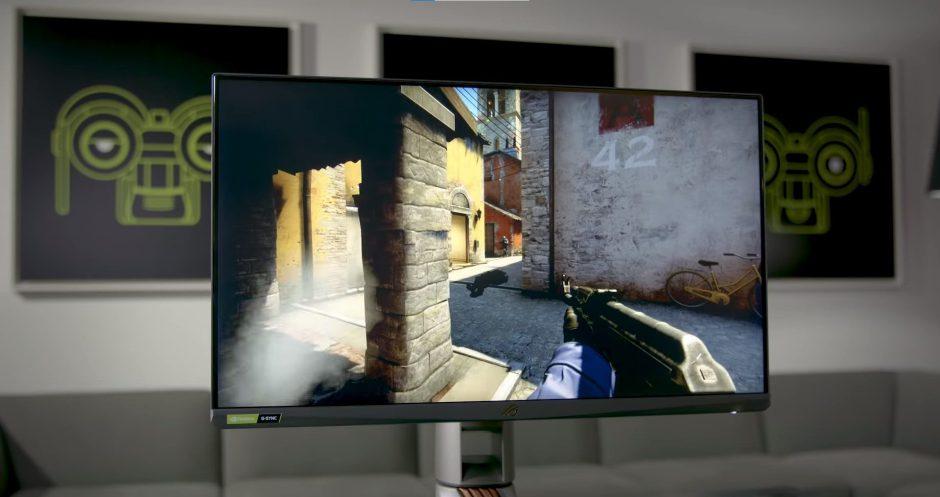Nvidia y ASUS presentan el monitor más rápido del mundo con 360 Hz