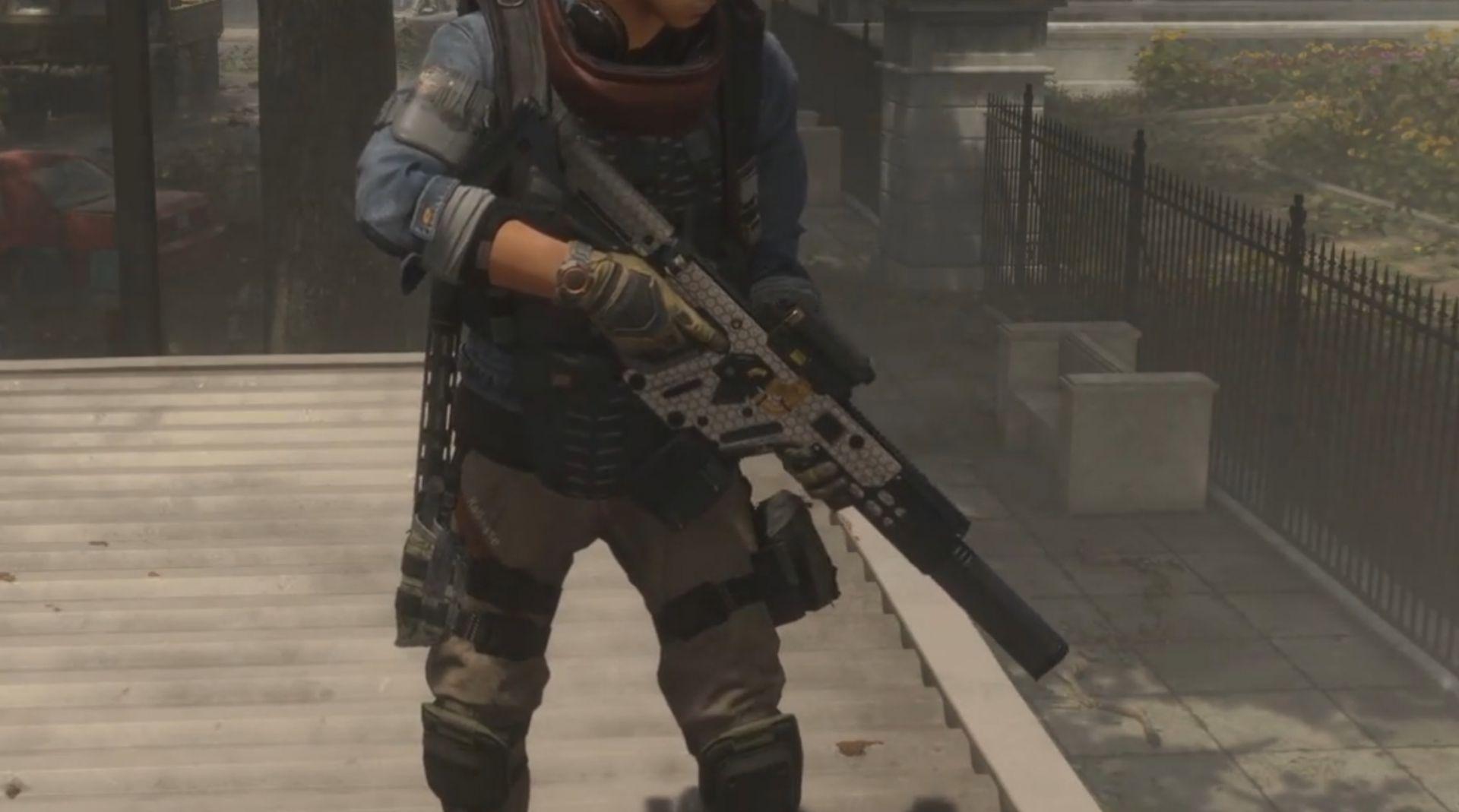 Kameleon, arma que cambia según en el entorno en The Division 2
