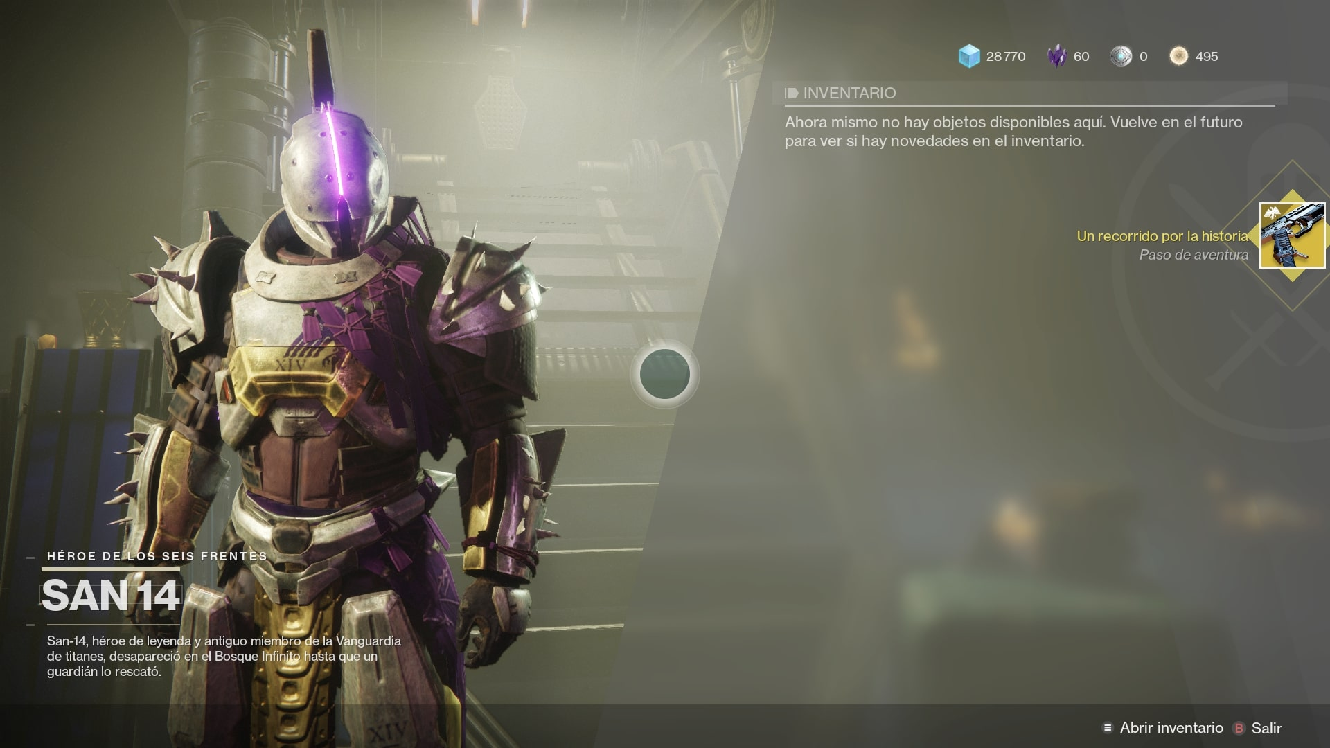 Guía Destiny 2: Cómo conseguir la pistola exótica «Ruina del Diablo»