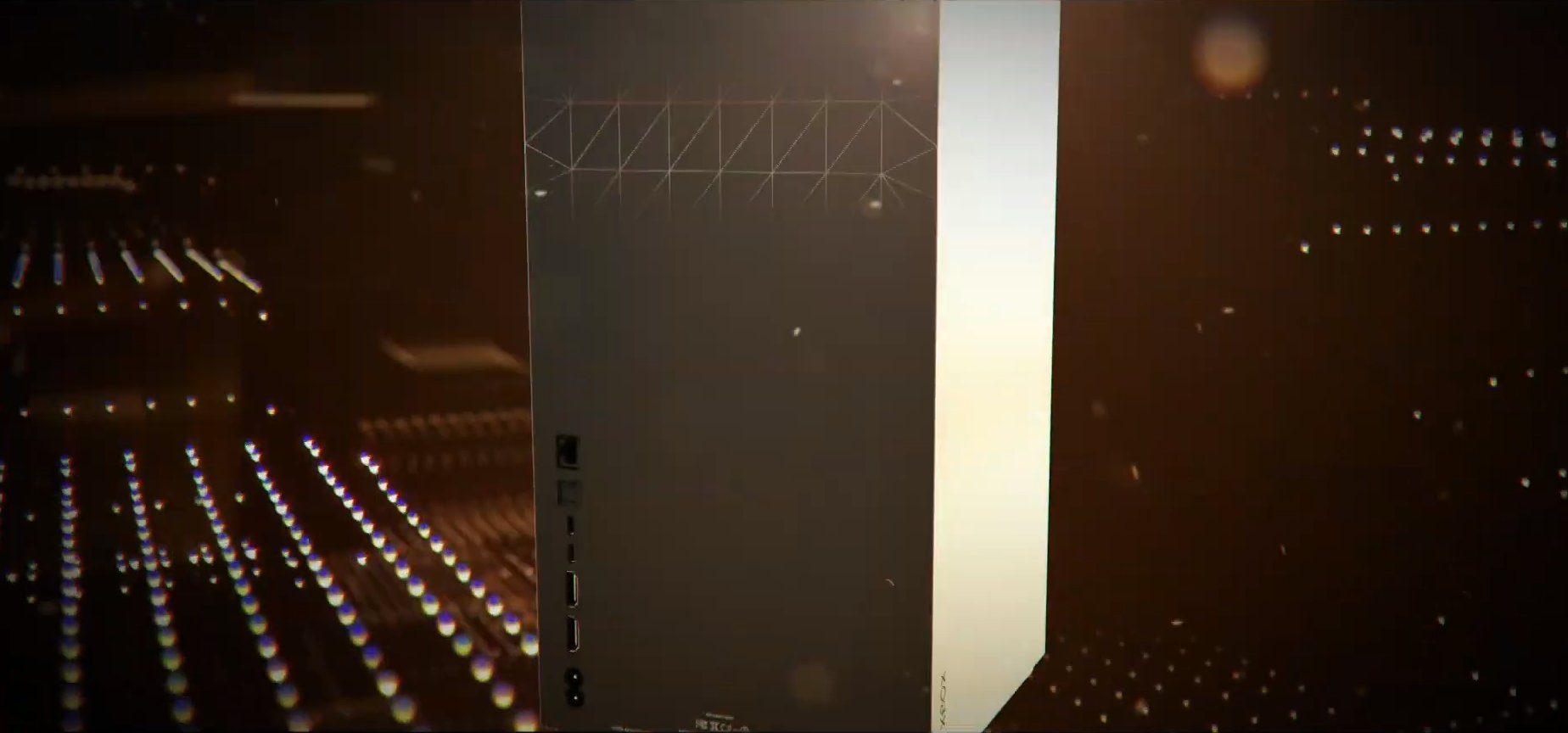 Xbox Series X trasera