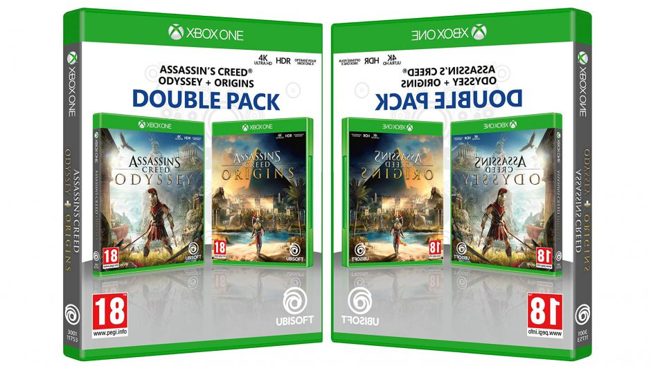 Double Pack: Assassin's Creed Odyssey + Assassin's Creed Origins a un precio brutal para Xbox One