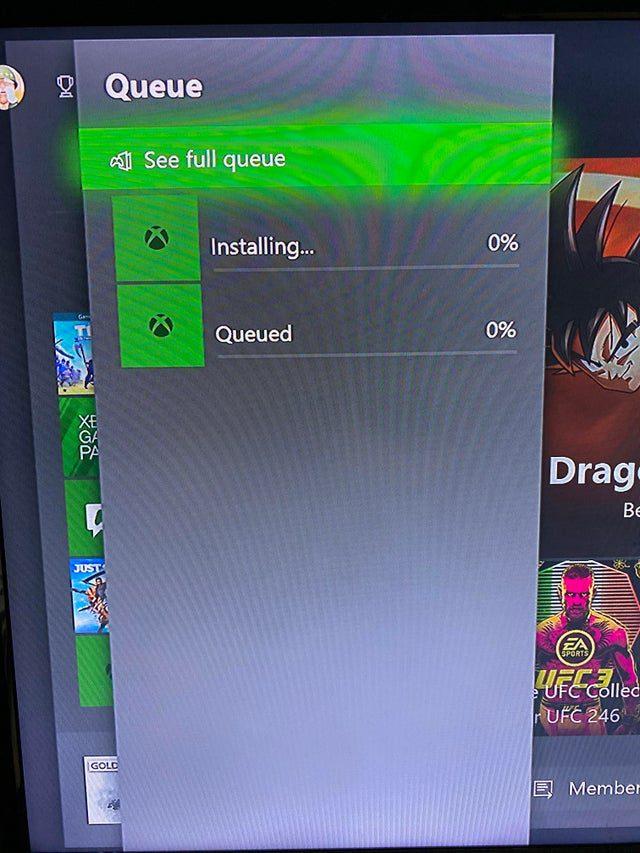 Instalar juegos en Xbox