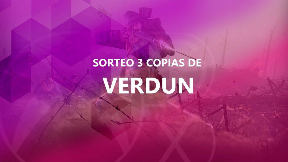 Sorteamos 3 copias digitales de Verdun para Xbox