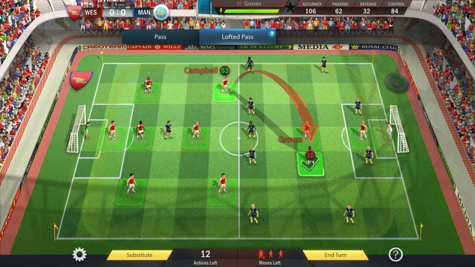 Football, Tactics and Glory llega a consolas