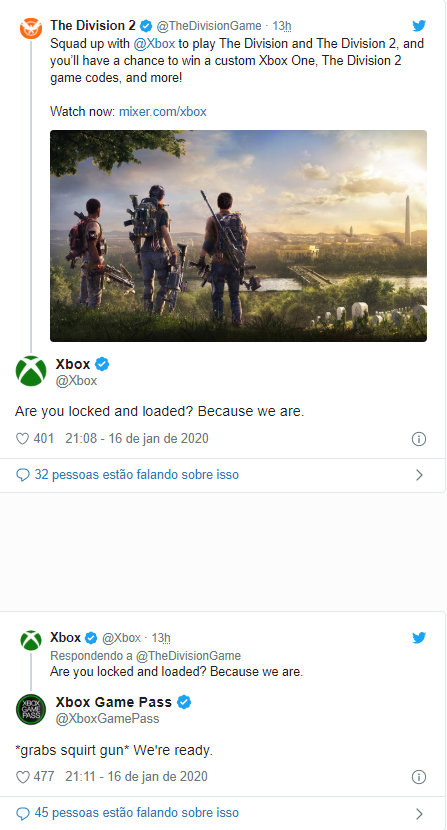 The Division 2 xbox game pass
