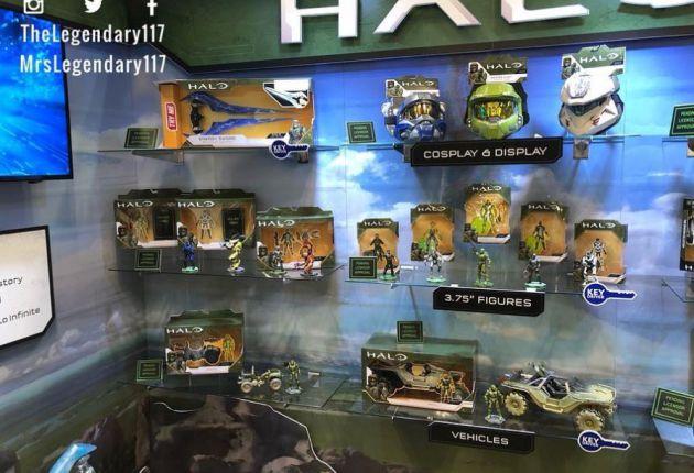 Son increíbles, presentada la nueva línea de juguetes de Halo Infinite
