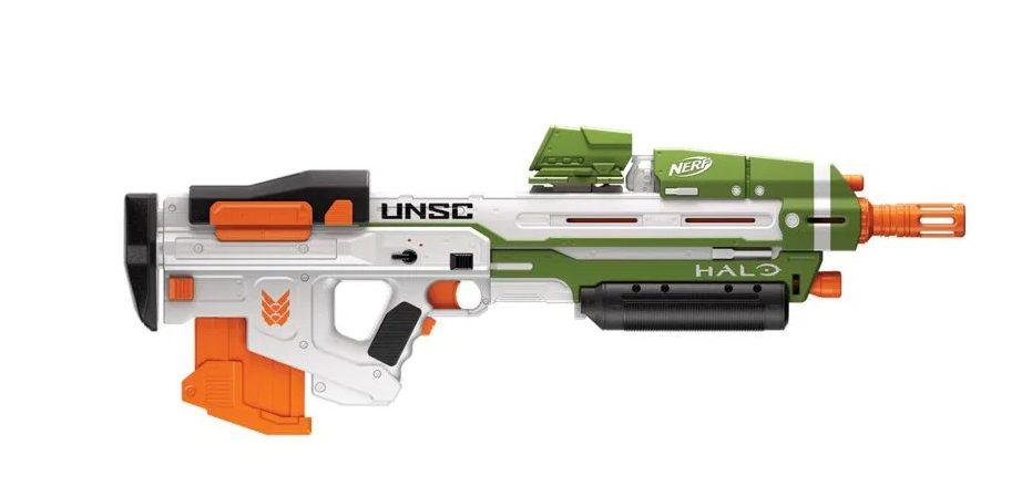 Los blasters de Halo llegan a las jugueterías