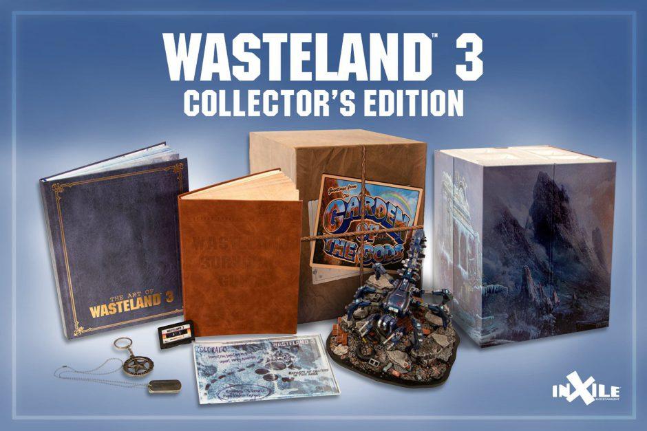 InXile muestra la impresionante edición coleccionista de Wasteland 3