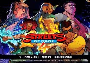 Este es el espectacular tráiler de lanzamiento del esperado Streets of Rage 4