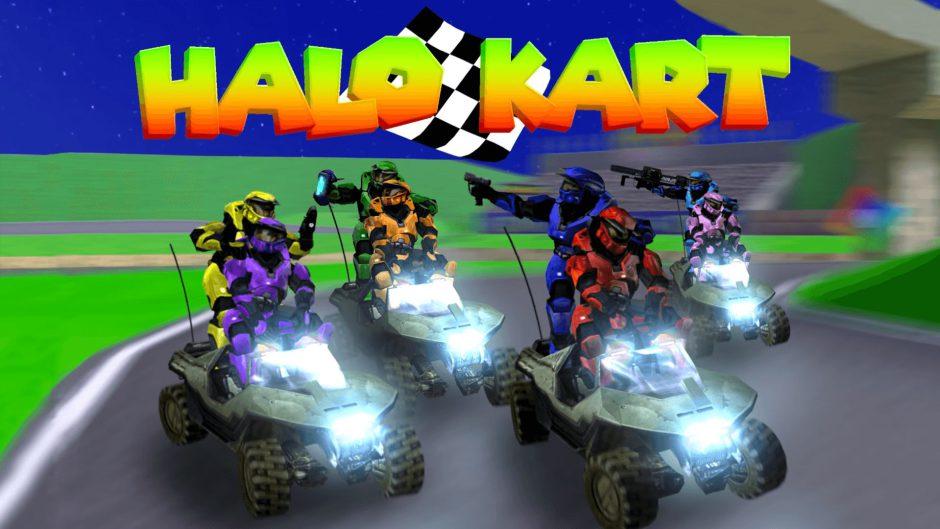 Halo y Mario Kart, unidos en este desternillante MOD
