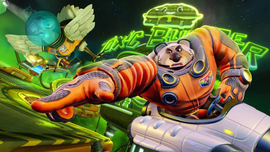 Crash Team Racing Nitro-Fueled: Llega Gasmoxia