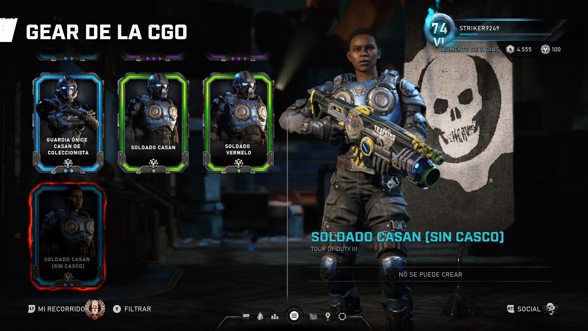 """La actualización 4.1 deja ver algunas novedades de la """"Operación 3"""" en Gears 5"""