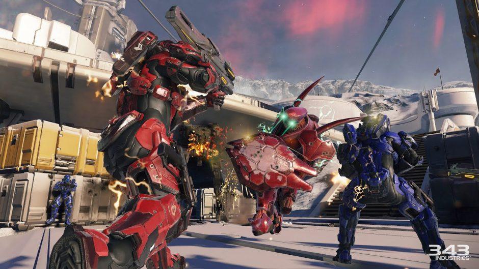 """El multijugador de Halo 5 Guardians activa los modos """"Saco de acción"""" y Warzone Turbo"""" para este fin de semana"""