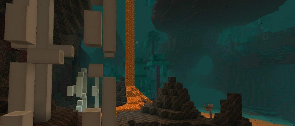 Minecraft en la Nether Update