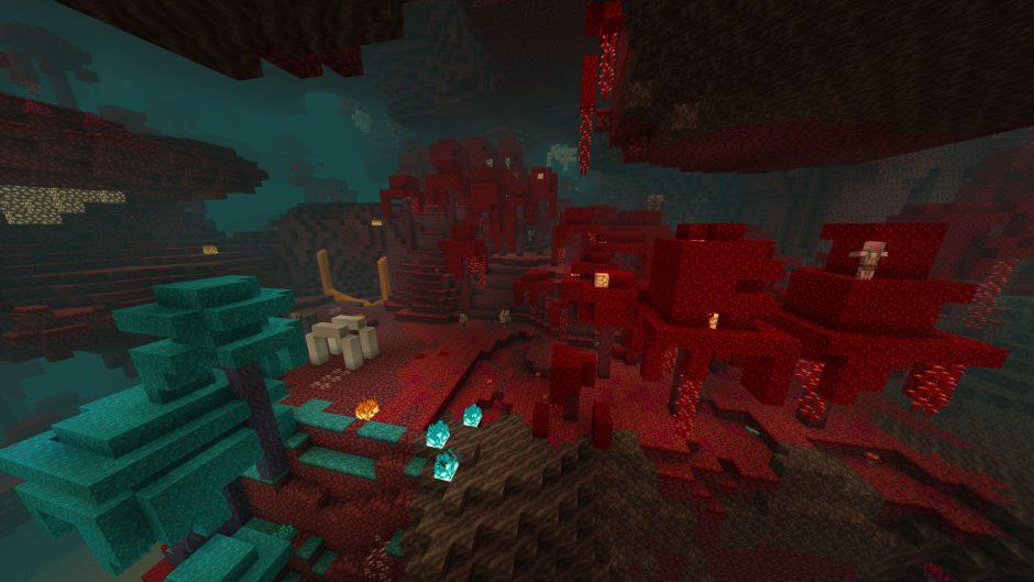 Minecraft recibe la Nether Update con biomas, bloques y más en una snapshot