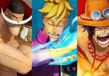 One Piece: Pirate Warriors 4 presenta a Barbablanca, Marco y Ace