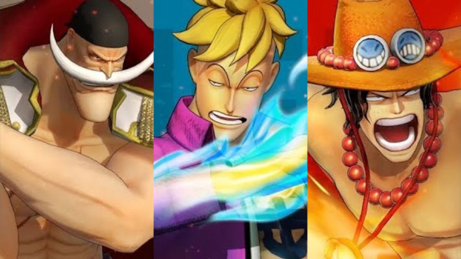 One Piece: Pirate Warriors 4 presenta a Barbablanca, Marco y Ace
