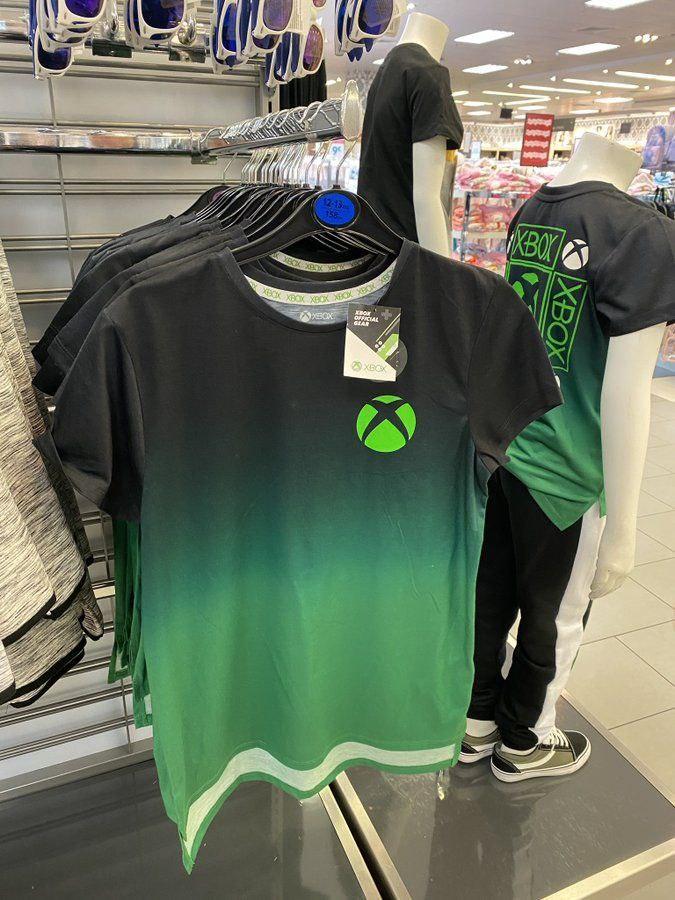 Así son las camisetas de Xbox que puedes comprar en Primark