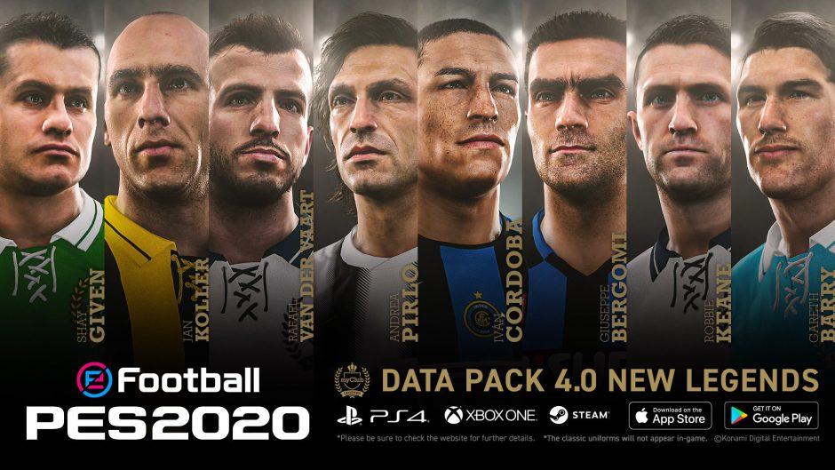 Disponible en Xbox One el Data Pack 4.0 para eFootball PES 2020
