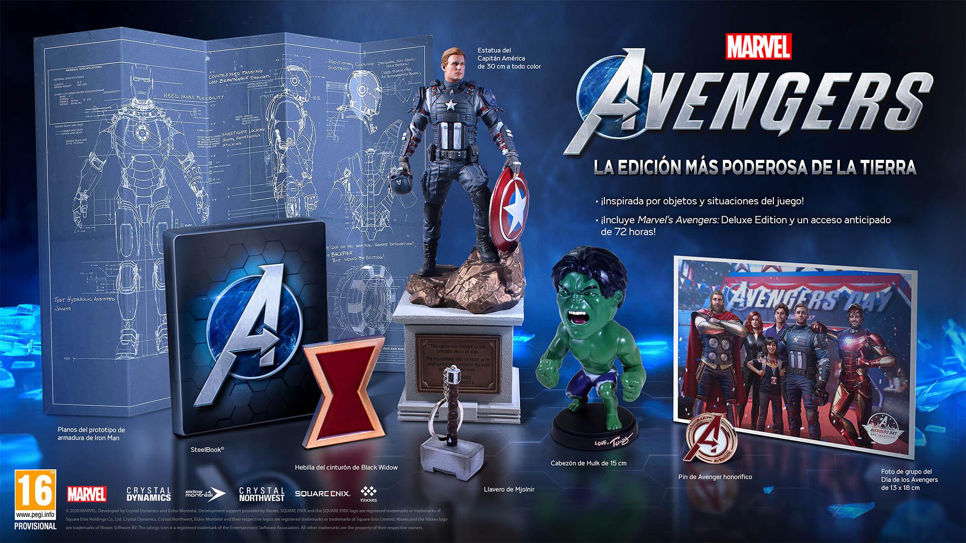 Marvel's Avengers: Anunciadas las ediciones especiales y el contenido adicional