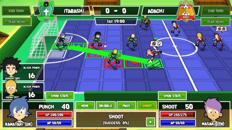 Ganbare! Super Strikers llegará a Xbox One el 25 de febrero