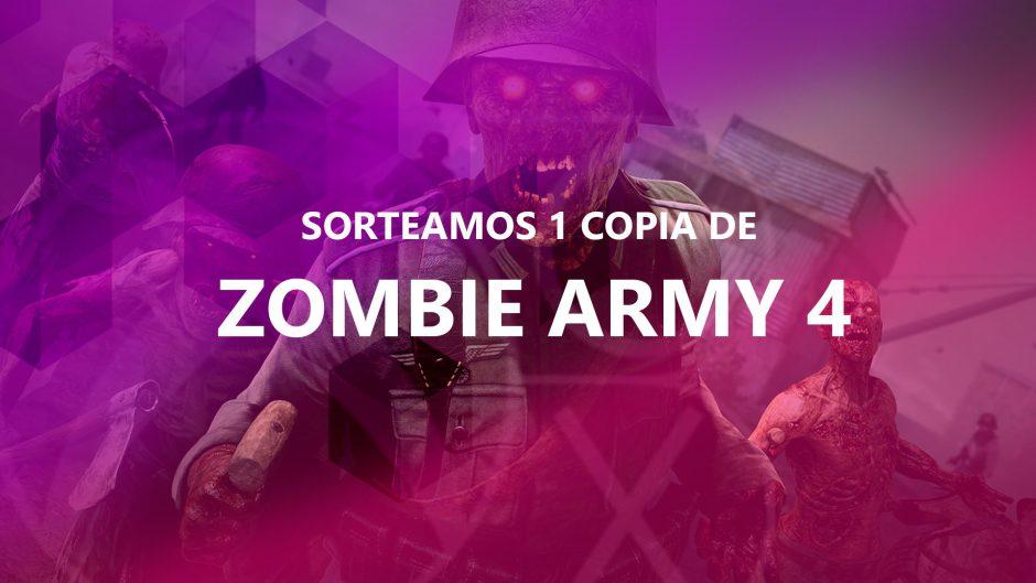 Sorteo Semanal: Gana 1 copia digital de Zombie Army 4