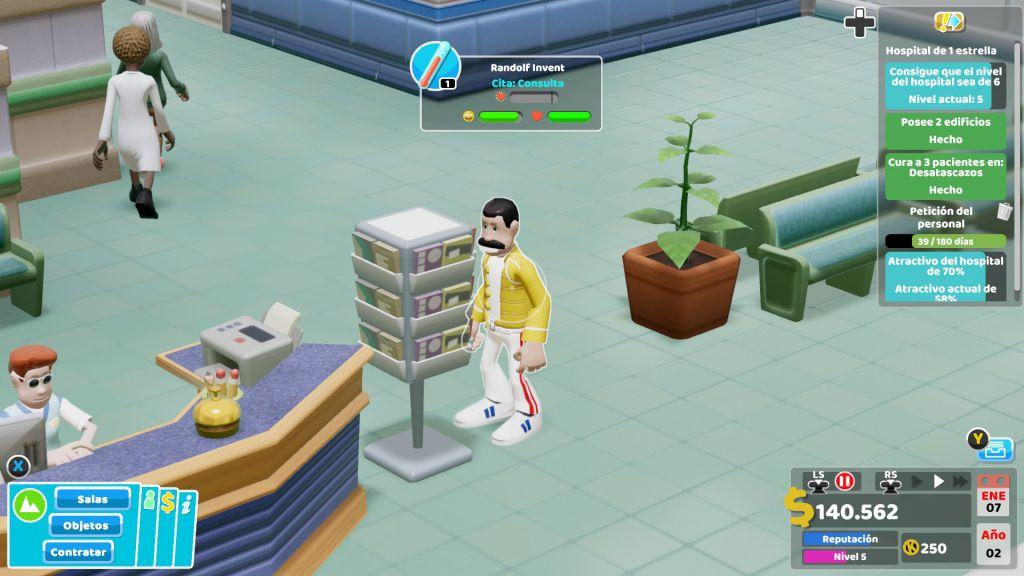 Análisis de Two Point Hospital