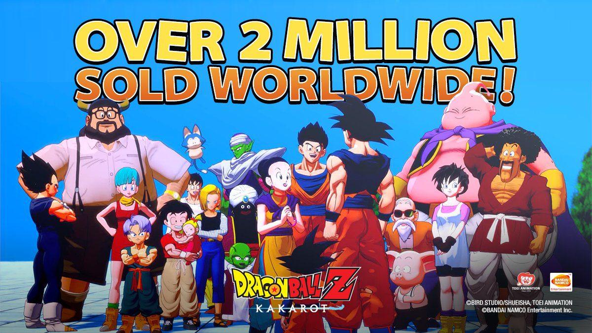 2 millones Dragon Ball Z Kakarot