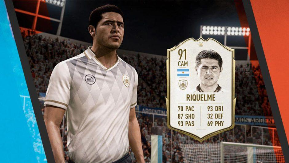 Riquelme y la Libertadores llegan a FIFA 20