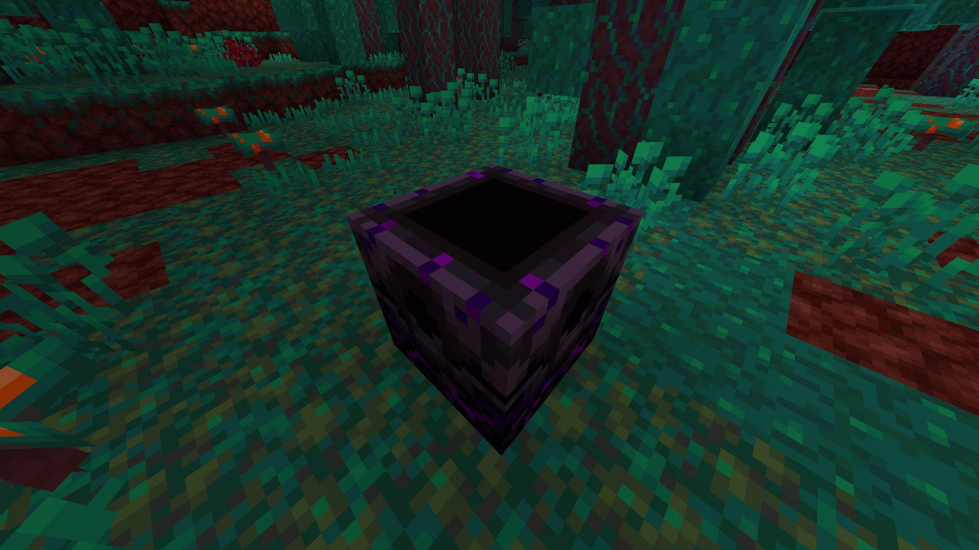 Antorcha de Reaparición en la 1.16 de Minecraft