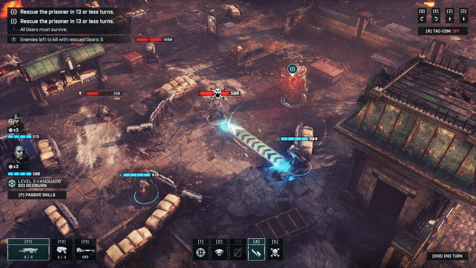 Captura de pantalla de Gears Tactics