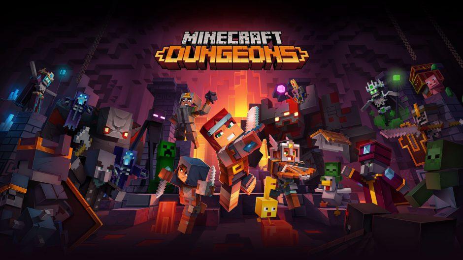 Minecraft Dungeons ya tiene fecha del fin de la beta cerrada