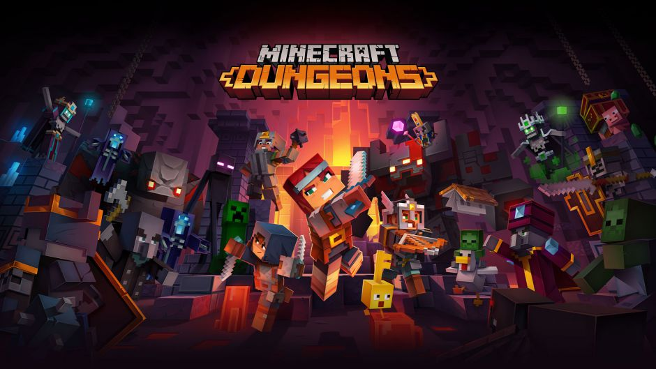 Minecraft Dungeons añadirá crossplay muy pronto