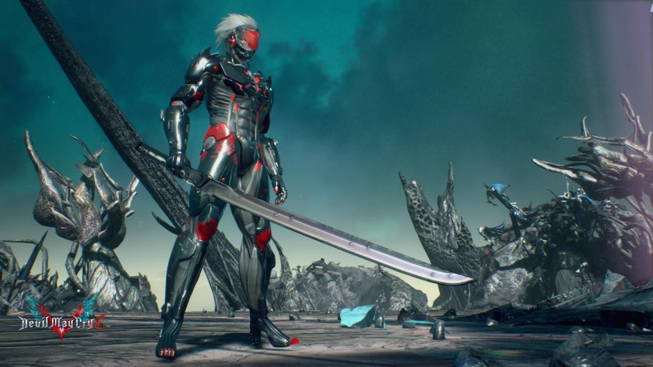 Juega como Raiden de MGS en Devil May Cry 5