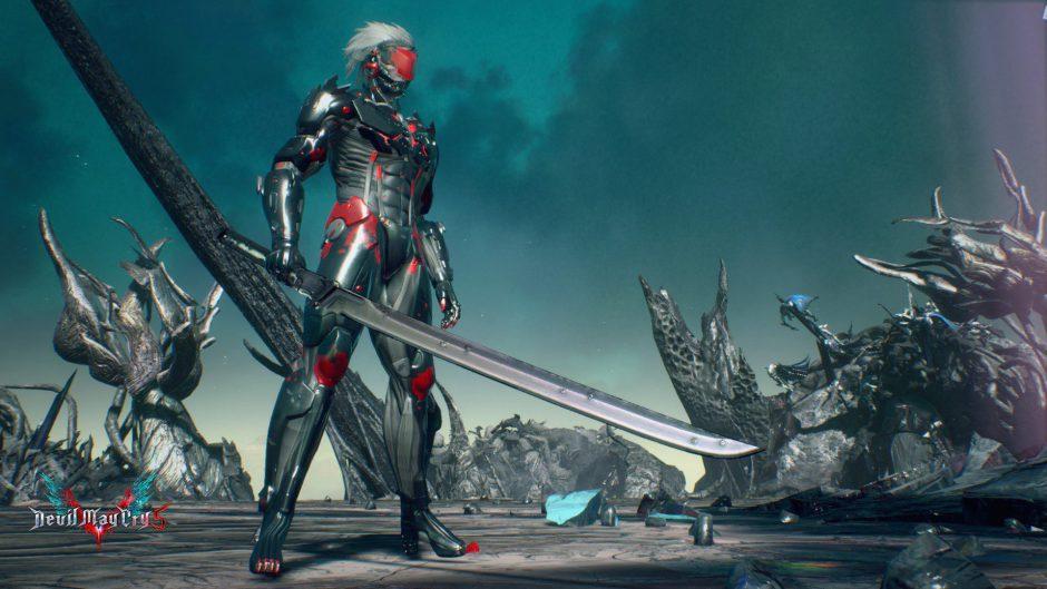 Juega como Raiden de MGS en Devil May Cry 5