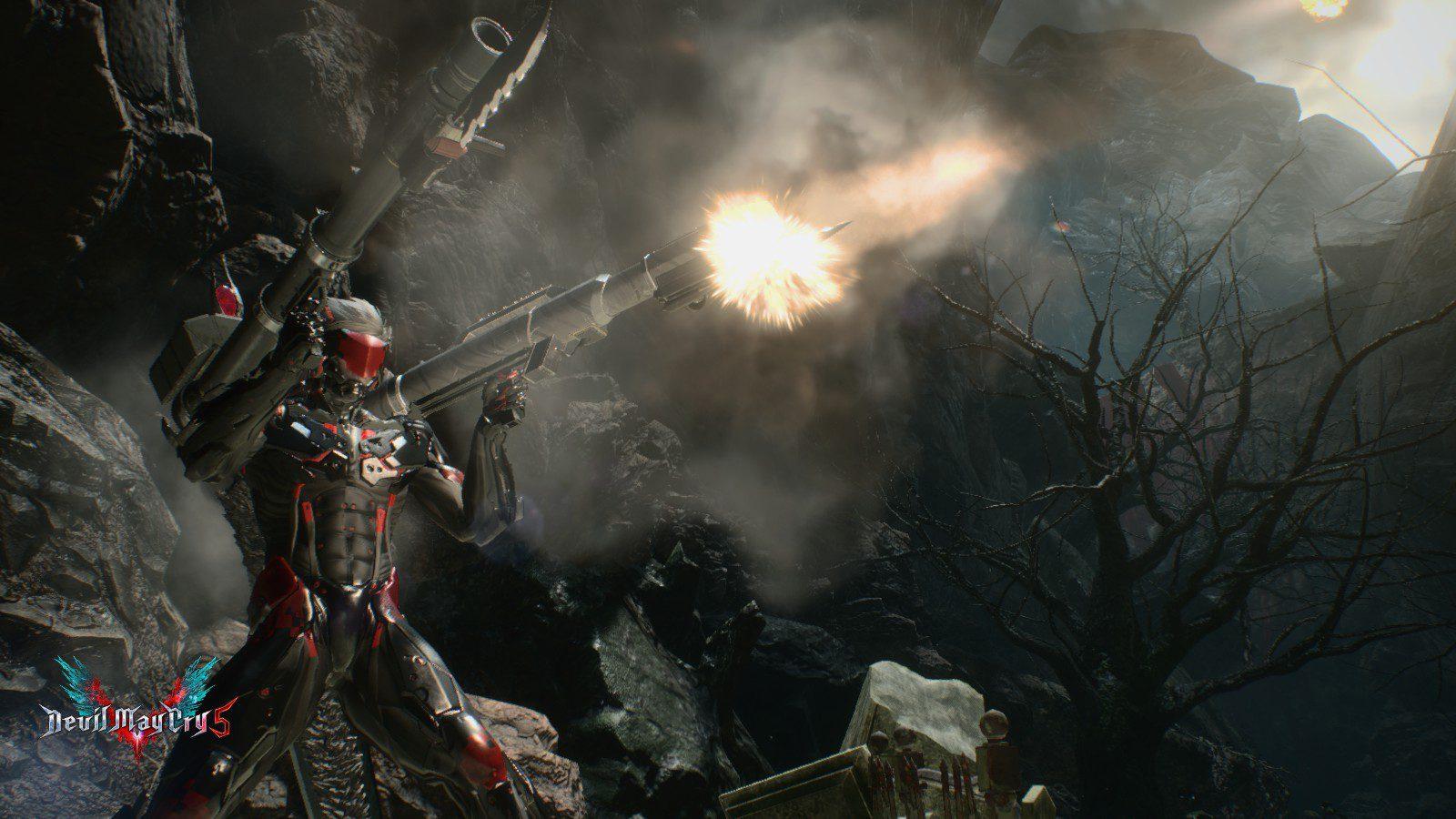 Mod de Raiden para Devil May Cry 5 y pistolas