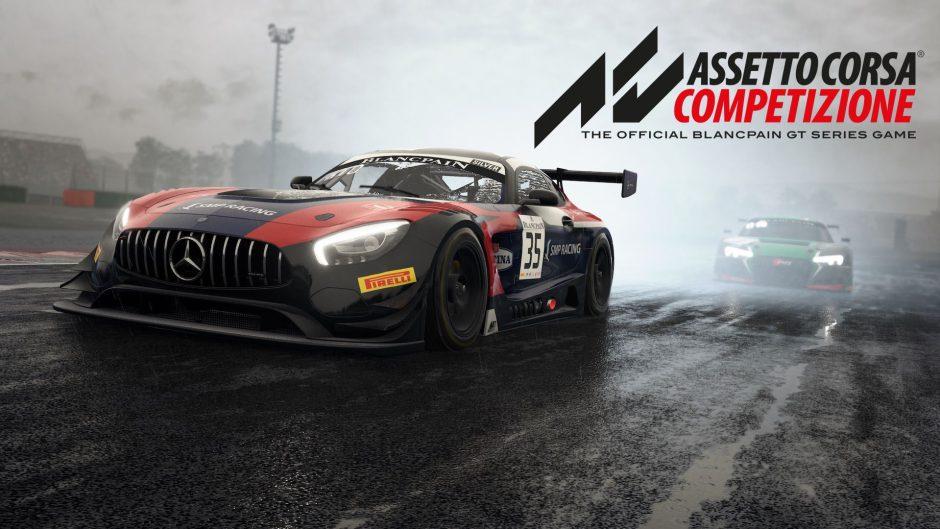 Xbox One X es la única consola que muestra Assetto Corsa Competizione a 4K nativo