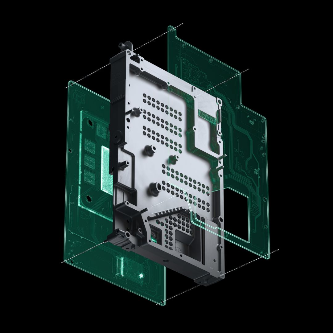 Disipador pasivo de Xbox Series X