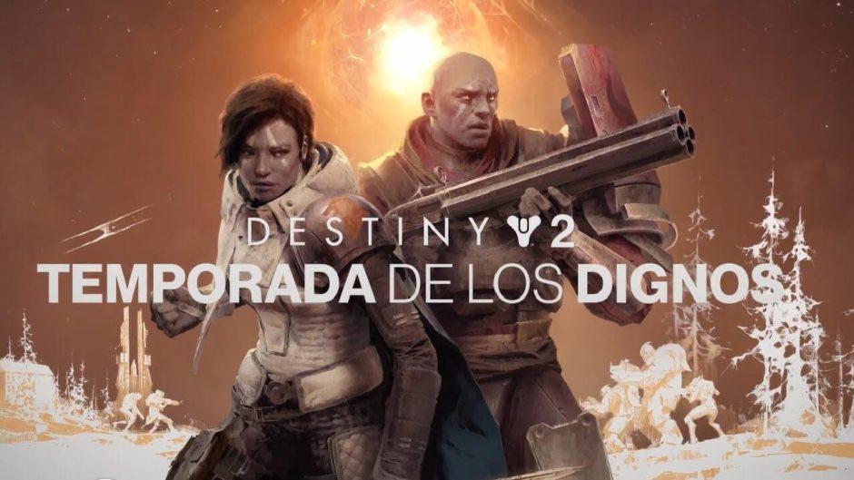 La nueva temporada de Los Dignos de Destiny 2 aumentará considerablemente el poder de nuestro equipo