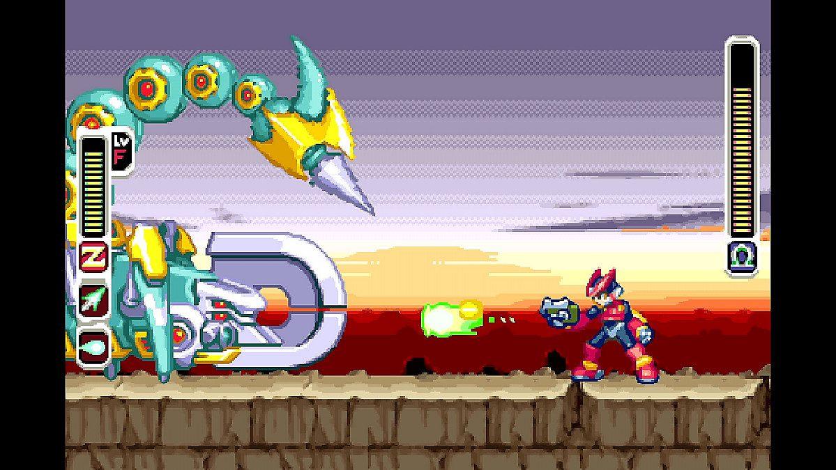 Análisis de Mega Man Zero/Zx Legacy Collection