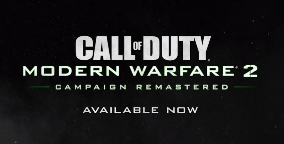 COD Modern Warfare 2 Remastered llegará mañana