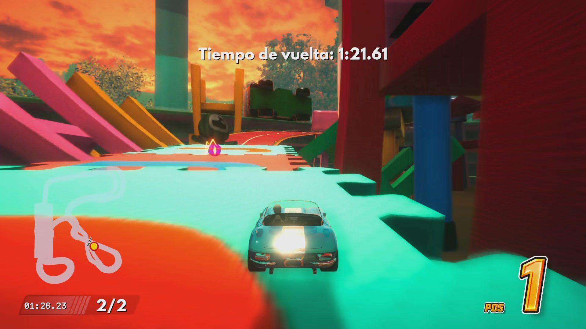 Contrarreloj en Super Toy Cars 2