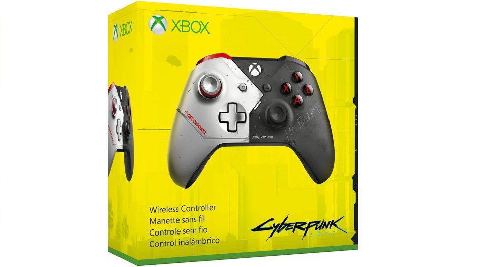 Se filtra un increíble mando de Xbox inspirado en Cyberpunk 2077