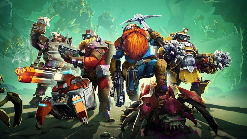 Deep Rock Galactic llegará a Xbox One el próximo mes de mayo