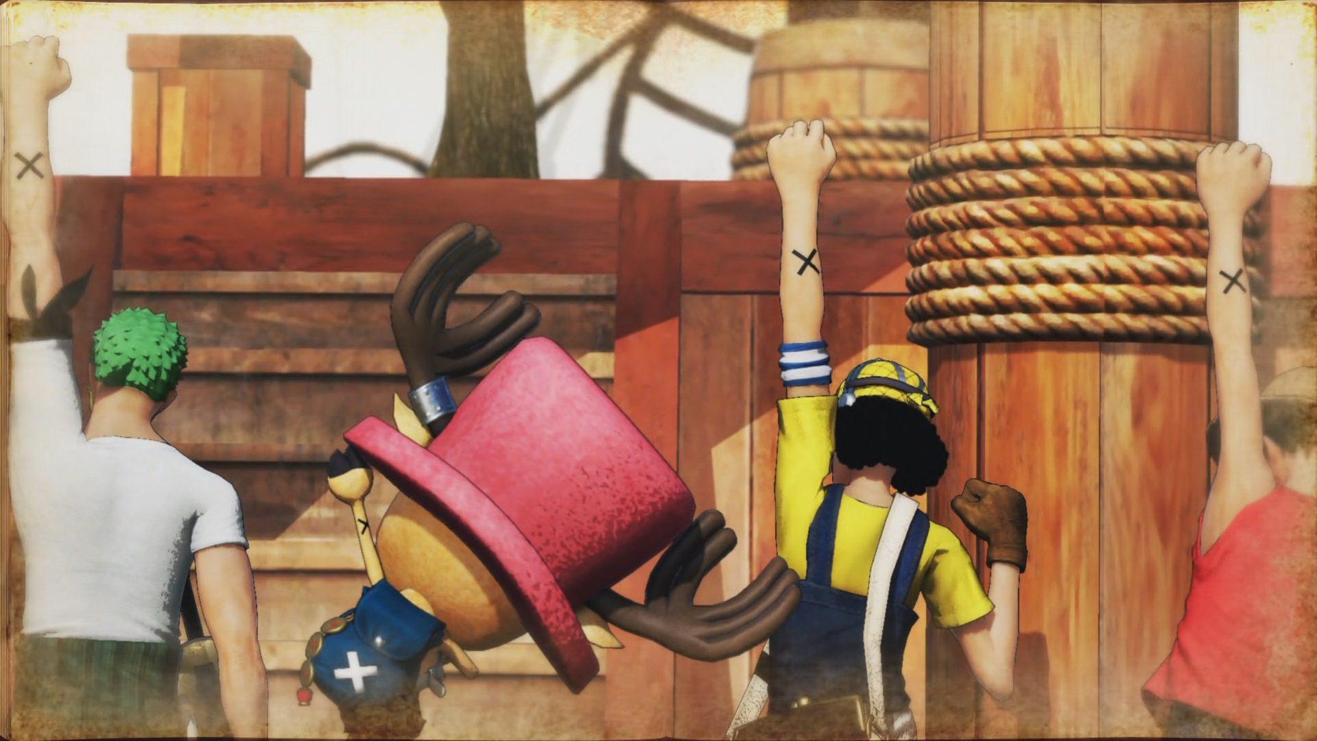 Despedida de Vivi en One Piece Pirate Warriors 4