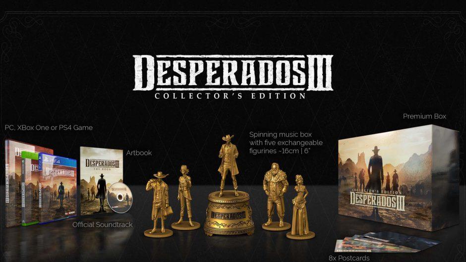 Así es la brutal edición para coleccionistas de Desperados III en Xbox One