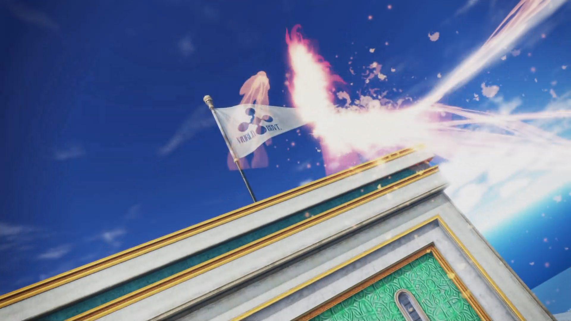 Destrucción de la bandera del gobierno mundial de One Piece Pirate Warriors 4