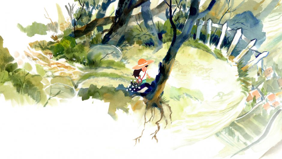 Dordogne, una aventura pintada a la acuarela, llegará a PC