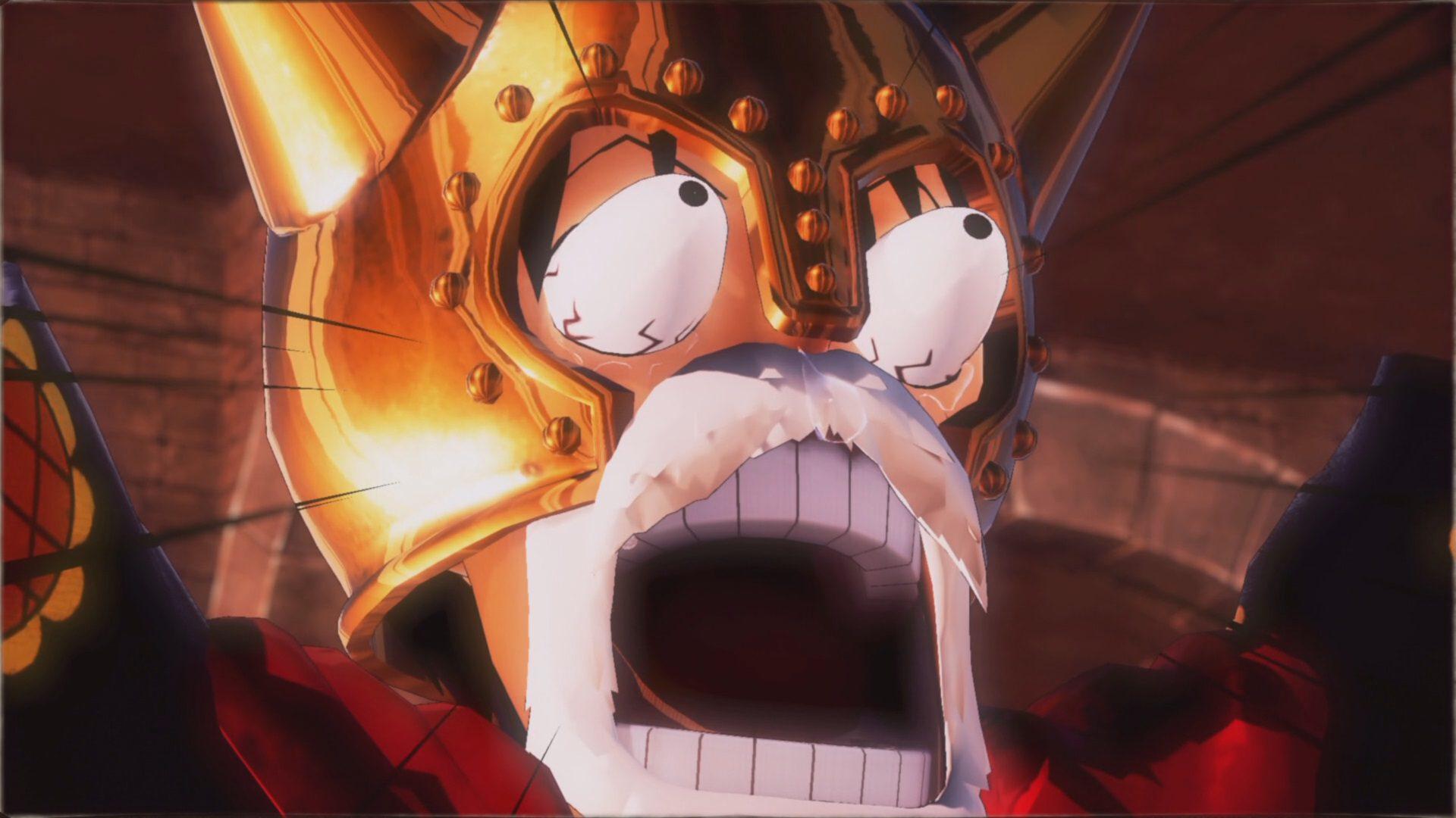 Luffy reencontrándose con Sabo en One Piece Pirate Warriors 4