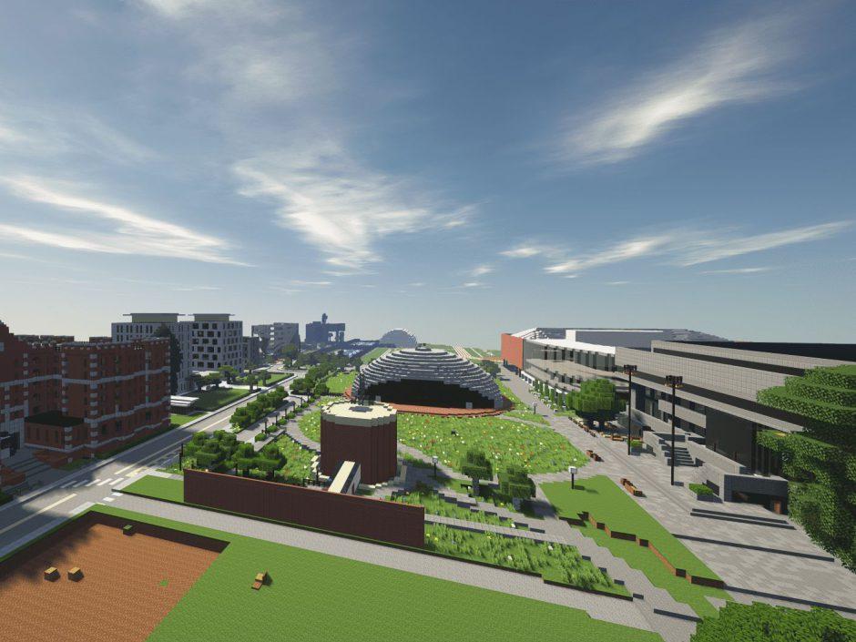 Los alumnos del MIT utilizan Minecraft para recrear su campus